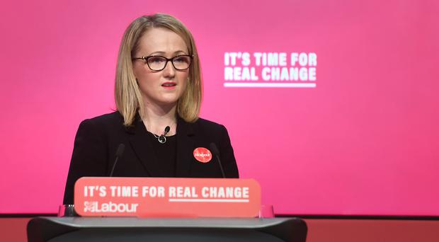 Momentum is urging its members to back Rebecca Long-Bailey for Labour leader (Joe Giddens/PA)