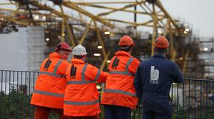 BiFab has gone into administration (Andrew Milligan/PA)
