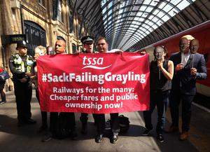 The Virgin Trains contract on the east coast mainline was brought to an end five years early (Virgin Trains/PA)