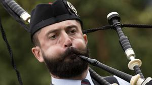 Around 200 groups were due to take part in the World Pipe Band Championships in Glasgow (David Cheskin/PA)