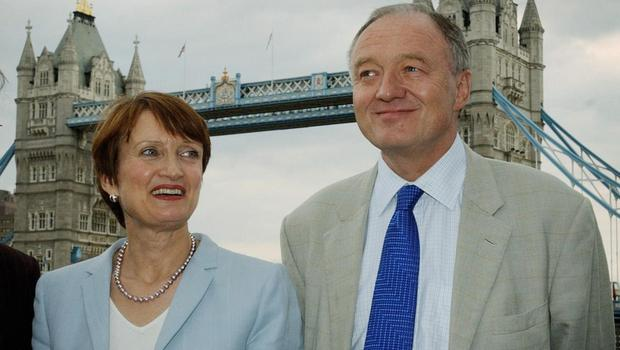 London Mayor Ken Livingstone meeting Culture Secretary Tessa Jowell at a press conference at City Hall in London as Britain launched its bid to bring the 2012 Olympic Games to London (Stefan Rousseau/PA)