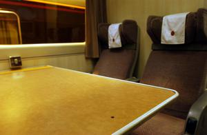 The bullet hole on the table in the staff dining car (Matthew Fearn/PA)