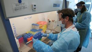 Eight more people have tested positive for Covid-19 in Northern Ireland (Andrew Milligan/PA)