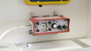 A Smiths Medical's ParaPac Plus ventilator. (Smiths Medical/PA)