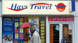 Hays Travel is to cut up to 878 jobs out of a total workforce of 4,500 people, the firm announced (Lewis Stickley/PA)