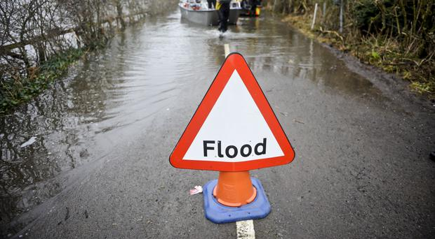 Flood warnings remain in place for Friday despite the weather clearing up for the weekend (Ben Birchall/PA)