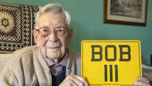 Bob Weighton, from Alton, was born on March 29 1908 (Steve Parsons/PA)