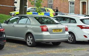 The Toyota Avensis that police believe was used in the shooting was later found abandoned (Lancashire Police/PA)