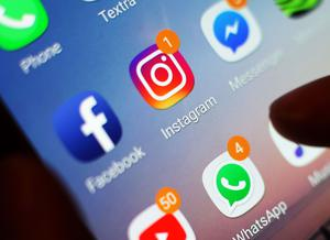 Instagram said it has removed double the amount of material related to self-harm and suicide since the start of this year (Yui Mok/PA)