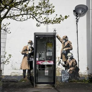 Plans to remove the Banksy artwork have sparked anger
