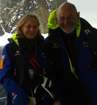 Graham Walters with his wife, Jean (Help for Heroes/PA)