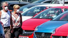 Northern Ireland  is the second worst hit UK region for new car sales after Scotland  (Peter Byrne/PA)