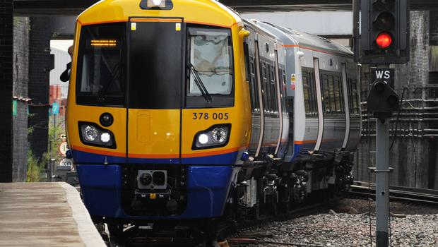 New London Overground trains unveiled