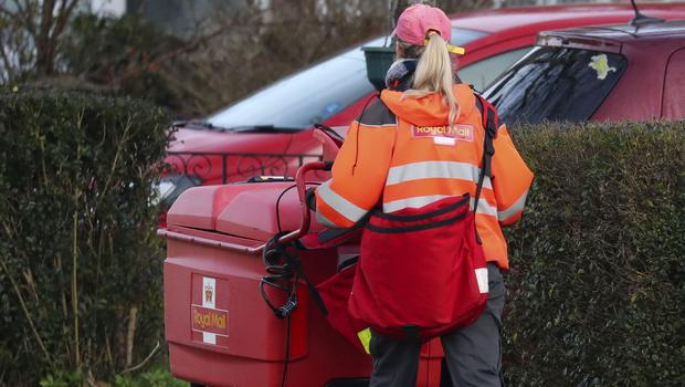 Royal Mail said industrial action fears hurt demand for parcel deliveries over the Christmas period (Steve Parsons/PA)