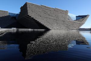 The VandA Dundee first opened in September 2018 (Andrew Milligan/PA)