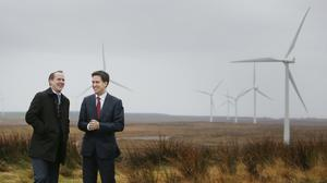 Mr Anderson's firm is building several wind farms in the UK. (Danny Lawson/PA)