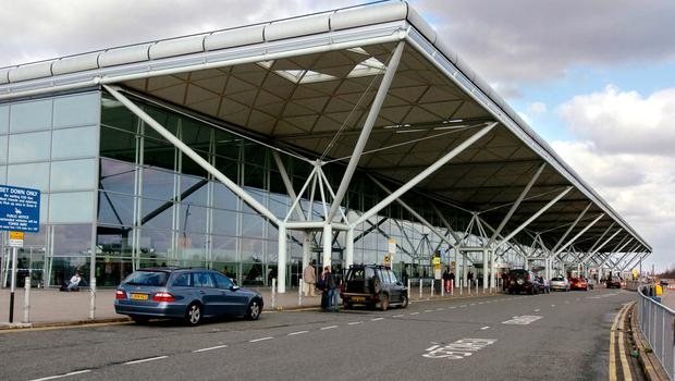 The main Departures and Arrivals building at Stansted Airport (PA)