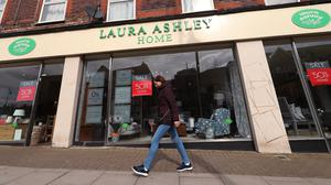 Laura Ashley operates 150 stores in the UK and employs around 2,700 staff (Yui Mok/PA)