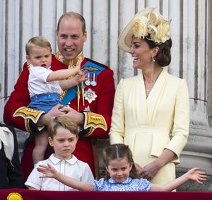 Kate revealed her children have lots of stamina despite the many activities they do as part of home schooling (Victoria Jones/PA)