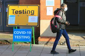 Mass testing has been identified by Boris Johnson as key to controlling the spread of the virus (Mike Egerton/PA)
