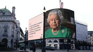 An image of the Queen during her broadcast on the coronavirus pandemic (Yui Mok/PA)