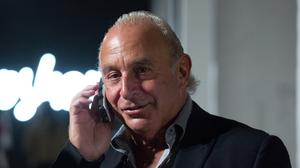 Sir Philip Green, whose legal battle with the Telegraph has been formally ended at the High Court (Isabel Infantes/PA)