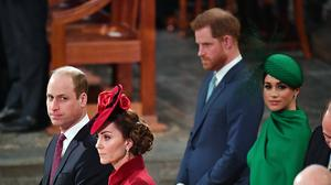 The royal brothers have separated their charitable activities (Phil Harris/Daily Mirror/PA)