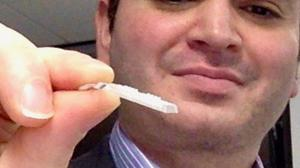 The device will look like a nicotine patch (Swansea University)