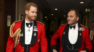 The Duke of Sussex at the annual Mountbatten Festival of Music (LPhot Barry Swainsbury/Ministry of Defence/PA)