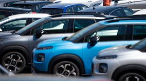 Demand for new cars fell by 89% last month as the coronavirus lockdown hit sales (Jacob King/PA)