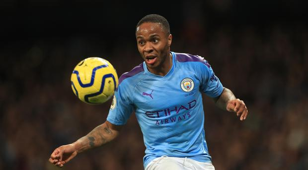 Manchester City's Raheem Sterling was racially abused (Mike Egerton/PA)