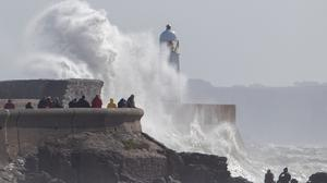 Britain is on course for heavy rain and gales from the remnants of Hurricane Lee (Steve Parsons/PA)