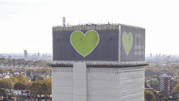 The Grenfell Tower (Steve Parsons/PA)