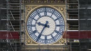 The new north dial of Big Ben (UK Parliament/Mark Duffy/PA)