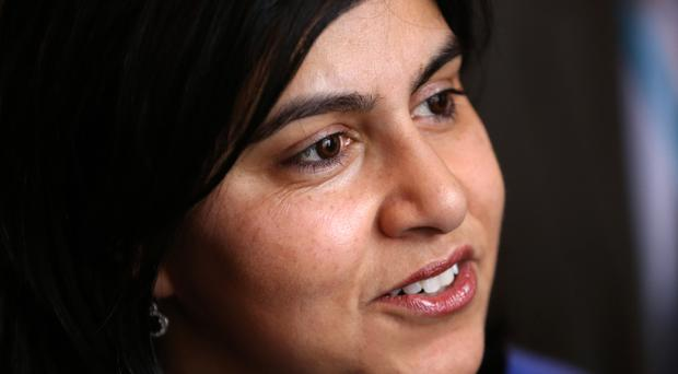 Baroness Warsi said Boris Johnson's comments were 'disappointing' but 'predictable' (Chris Radburn/PA)