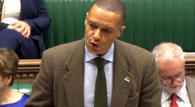 Clive Lewis has announced he will stand in the race to replace Jeremy Corbyn as Labour leader (PA/Commons)