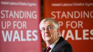 Welsh First Minister Mark Drakeford has said he will not be bound by Westminster over when to end lockdown measures (Ben Birchall/PA)