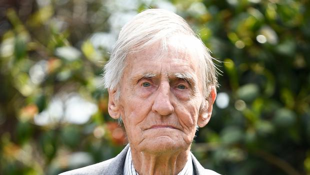 Jim Booth, 96, who was attacked at his home in Taunton, Somerset (Ben Birchall/PA)