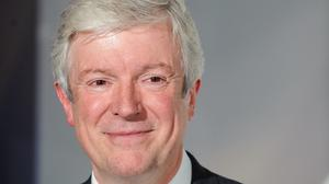 BBC director-general Tony Hall, who has said the BBC is very much alive and kicking.