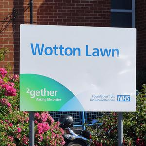 The Wotton Lawn Hospital in Gloucester where a healthcare assistant was stabbed