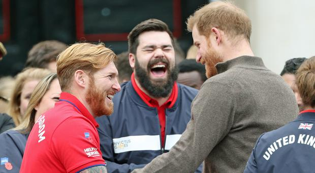 The Duke of Sussex attending the launch of Team UK for next year's Invictus Games (Yui Mok/PA)