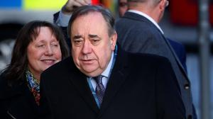 Alex Salmond faces 13 charges relating to alleged offences against nine women (Andrew Milligan/PA)