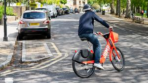 Uber has made its Jump bikes available for free to NHS staff (Uber/PA)