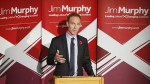 Jim Murphy is in the running to become the next leader of Scottish Labour