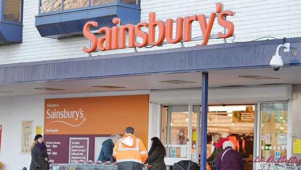 Sainsbury's staff are being moved on to new contracts (John Stillwell/PA)