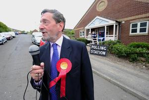 Lord Blunkett said the chance of Labour winning a majority at the General Election was 'extraordinarily slim' (John Giles/PA)