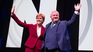 First Minister Nicola Sturgeon has been defended by Westminster SNP leader Ian Blackford MP (Jane Barlow/PA)