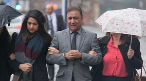 Jaswant Rathore arriving at Wolverhampton Crown Court (Aaron Chown/PA)
