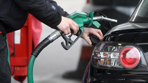 Fuel prices have reached a three-and-a-half-year high (Lewis Whyld/PA)