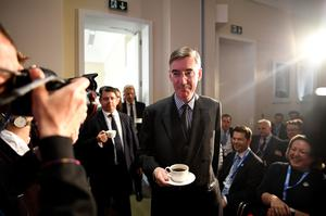 Jacob Rees-Mogg is a key supporter of Mr Johnson (Stefan Rousseau/PA)